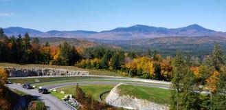 Circuito automovilístico de New Hampshire fotografía de archivo