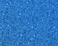 Circuito blu Fotografie Stock Libere da Diritti