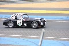 Circuito classico di Le Mans dell'automobile fotografia stock