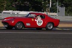 Circuito classico di Le Mans dell'automobile immagine stock libera da diritti
