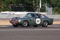 Circuito classico di Le Mans dell'automobile fotografia stock libera da diritti