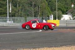 Circuito classico di Le Mans dell'automobile immagini stock libere da diritti