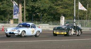 Circuito classico di Le Mans dell'automobile Fotografie Stock