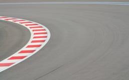 Circuito de carreras F1 foto de archivo
