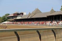 Circuito de carreras histórico magnífico, Travers Stakes, Saratoga, Nueva York, 2015 Imagen de archivo