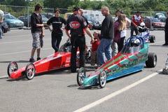 Circuito de carreras Inglaterra de Santapod Imagenes de archivo