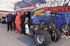 Circuito de carreras Inglaterra de Santapod Fotografía de archivo libre de regalías