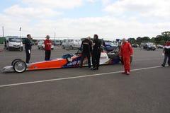 Circuito de carreras Inglaterra de Santapod Fotografía de archivo