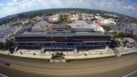 Circuito de carreras y casino Hallandale de Gulfstream metrajes