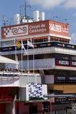 Circuito de Catalunya Imagens de Stock