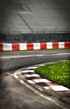 Circuito de competência da fórmula 1 Foto de Stock Royalty Free