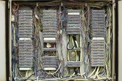 Circuito de control de comunicación Fotos de archivo