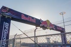 Circuito de la raza durante Red Bull GRC Imagen de archivo