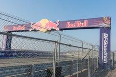 Circuito de la raza durante Red Bull GRC Foto de archivo