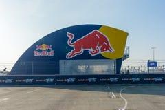 Circuito de la raza durante Red Bull GRC Fotos de archivo