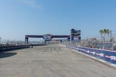 Circuito de la raza durante Red Bull GRC Imagen de archivo libre de regalías