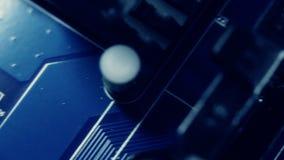 Circuito de la tecnología que enrolla diagonalmente almacen de metraje de vídeo