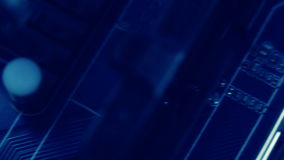 Circuito de la tecnología que enrolla diagonalmente metrajes