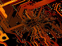 Circuito de ordenador Imagen de archivo