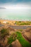 Circuito de Playas (strandströmkretsen) Arkivbild