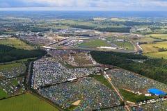 Circuito de Silverstone Imagens de Stock