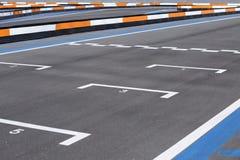 Circuito de trilha de Karting Fotografia de Stock