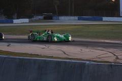 Circuito del coche de competición de Sebring Fotos de archivo libres de regalías