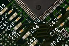 Circuito del computer fotografia stock libera da diritti