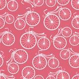 Circuito del modelo retro de las bicicletas stock de ilustración