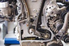 Circuito del motore Fotografie Stock Libere da Diritti