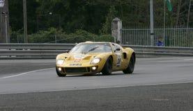 Circuito della vettura da corsa di Le Mans immagine stock libera da diritti
