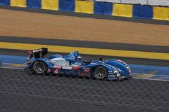 Circuito della vettura da corsa di Le Mans fotografia stock