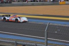Circuito della vettura da corsa di Le Mans fotografie stock libere da diritti