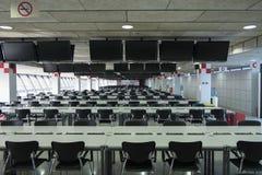 Circuito di Barcellona della sala stampa Immagine Stock