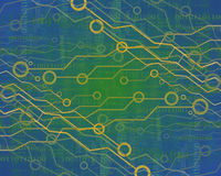Circuito di computer Immagine Stock Libera da Diritti
