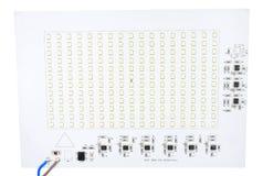 Circuito di illuminazione di tensione LED delle condutture Fotografia Stock