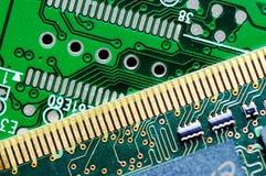 Circuito di una scheda di memoria e del disco rigido Fotografia Stock