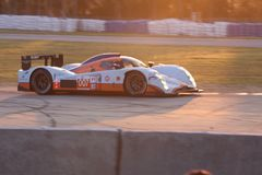 Circuito do carro de competência de Sebring Foto de Stock
