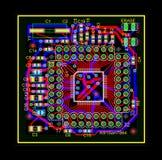 Circuito eléctrico Imagenes de archivo