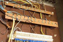 Circuito eléctrico Foto de archivo libre de regalías