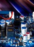 circuito electrónico Fotos de archivo