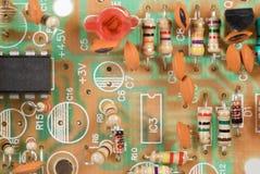 Circuito electrónico fotografía de archivo libre de regalías