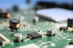 Circuito electrónico Imagen de archivo libre de regalías