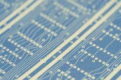 Circuito electrónico Imágenes de archivo libres de regalías