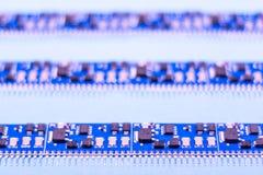 Circuito electrónico foto de archivo libre de regalías