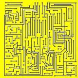Circuito electrónico del fondo - vector Foto de archivo libre de regalías