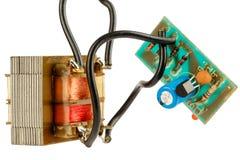 Circuito electrónico simple Imagen de archivo libre de regalías