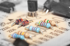 Circuito eletrônico Foto de Stock