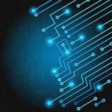 Circuito eletrônico Fotografia de Stock