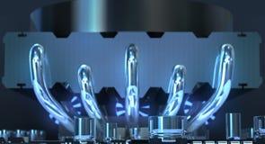 Circuito elettronico illustrazione vettoriale